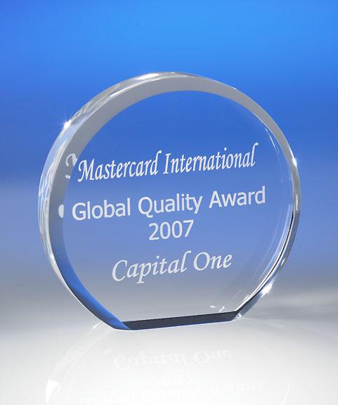 Free Standing Circle Acrylic Award