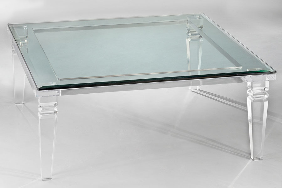 Messina Acrylic Cocktail Table