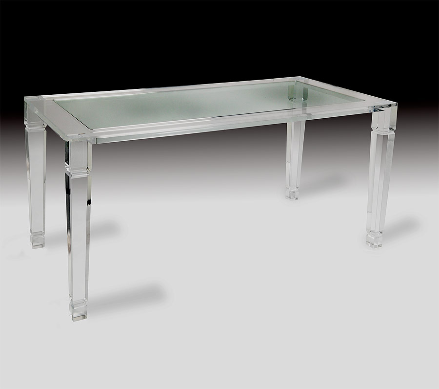 Philipe Acrylic Dining Table Muniz Plastics