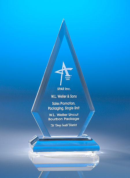 Pinnacle Acrylic Award