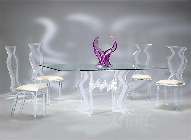 Acrylic Monaco Dining / Monaco Chair