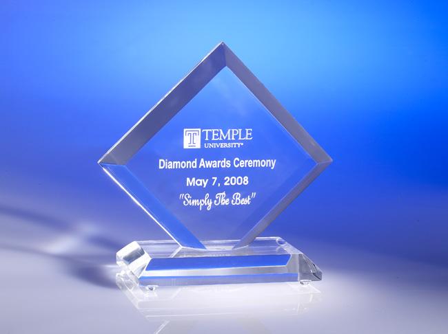 Junior Diamond Acrylic Award
