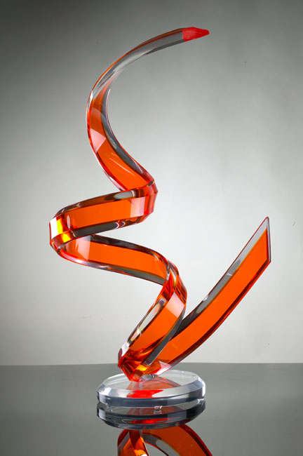 Naja Acrylic Sculpture