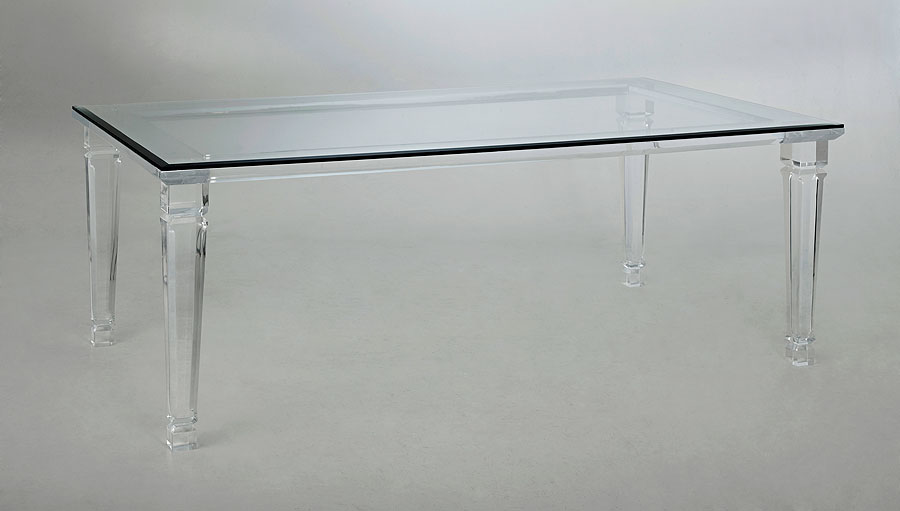 Barcelona Acrylic Dining Table