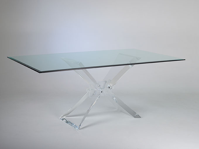 acrylic dining table butterfly