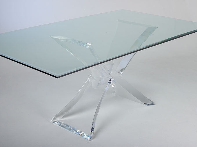 Butterfly Acrylic Dining Table