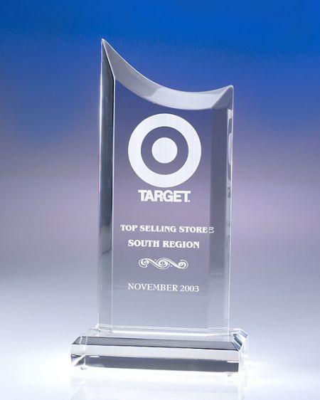 Concave Acrylic Award