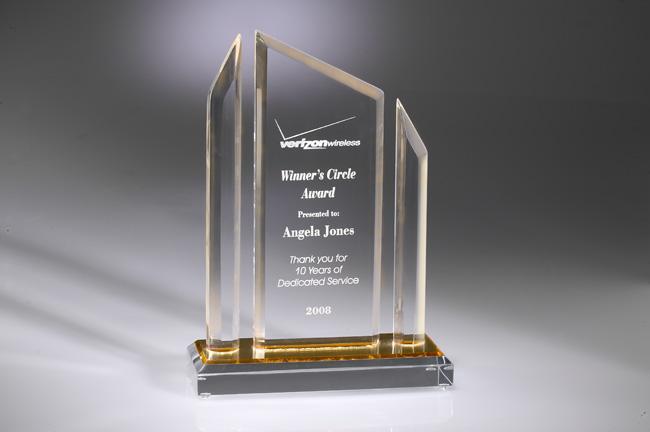 Elite 100 Acrylic Award