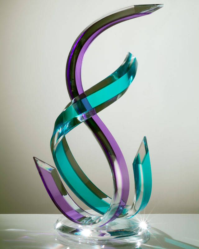 Embrace Acrylic Sculpture