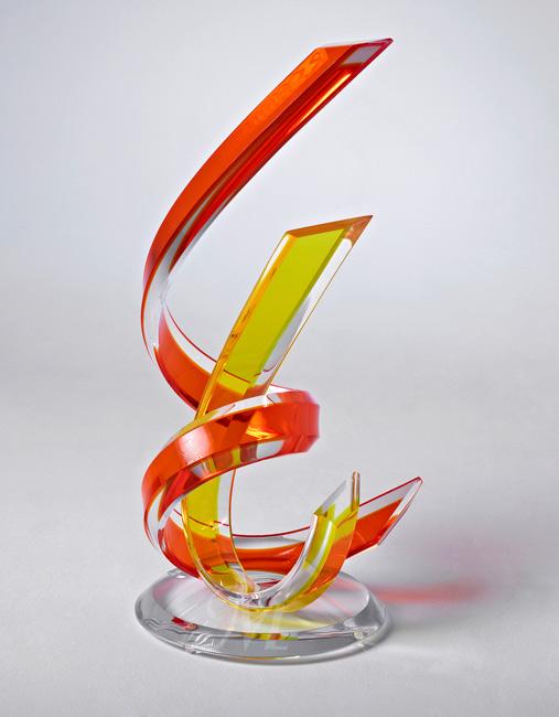 Fusion Acrylic Sculpture