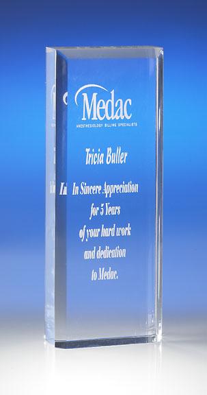 Free Standing Tower Acrylic Award