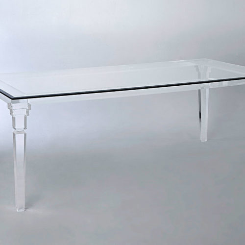 Home/Acrylic Dining Sets/Versailles Acrylic Dining Table