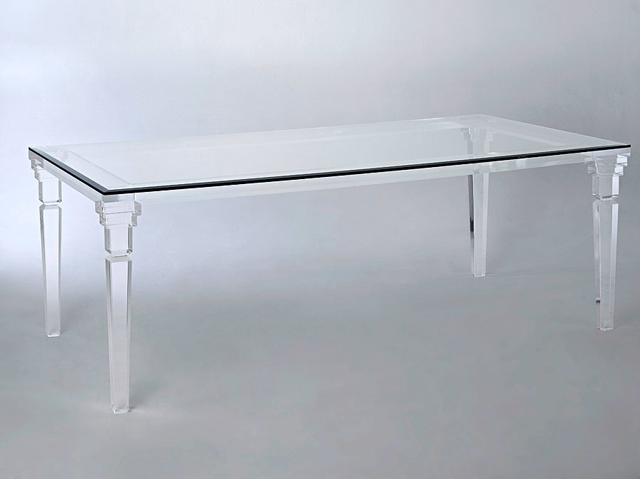 Versailles Acrylic Dining Table