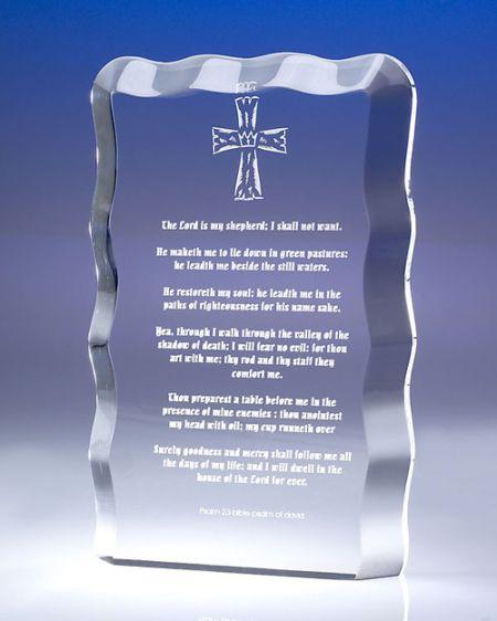 Wavy Acrylic Award