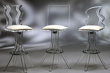 Acrylic Bar Stools