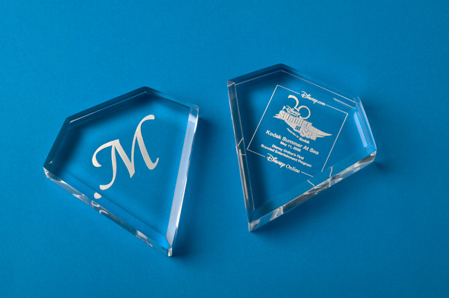 Acrylic Diamond Paperweights