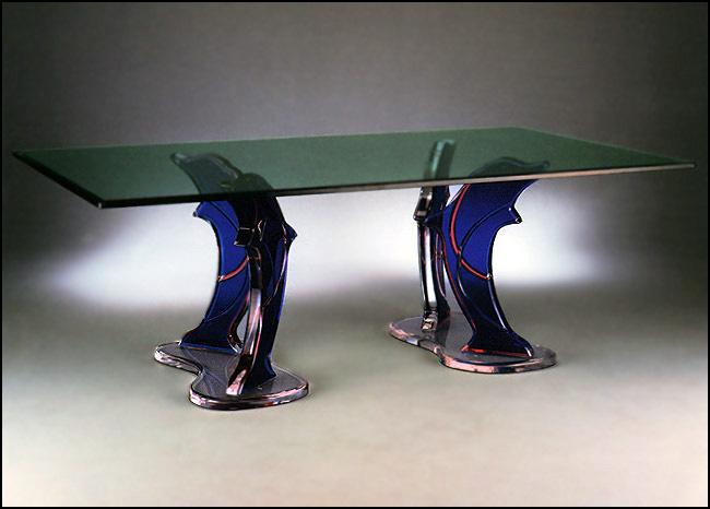 Color Dolphin Table Muniz Plastics