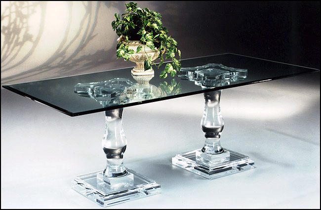 Acrylic Dining Table Corintian