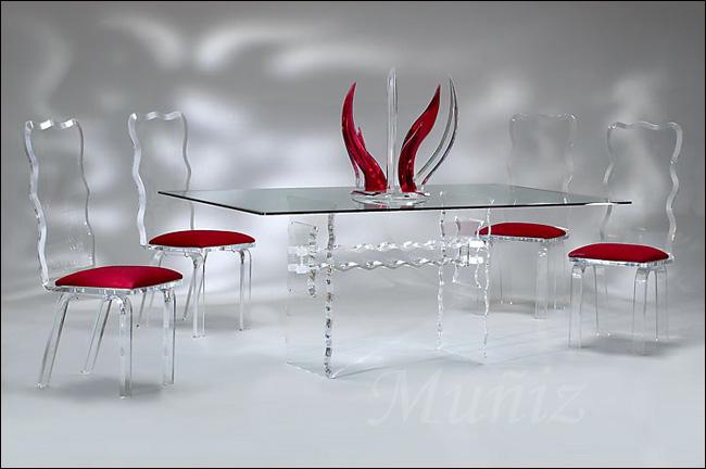 Crystal Dining / Crystal Chair