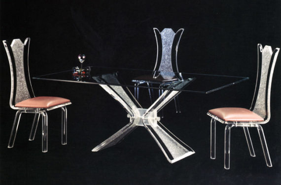 Exceptionnel Acrylic Dining Chairs USA