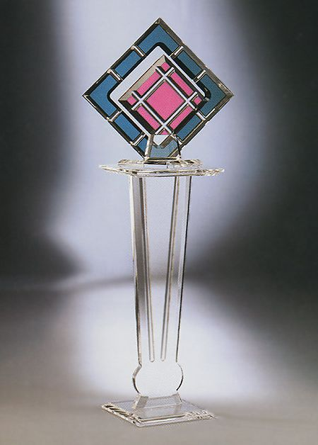 Destiny Sculpture/ Hollywood Acrylic Pedestal