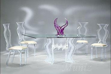 Acrylic DIning Sets