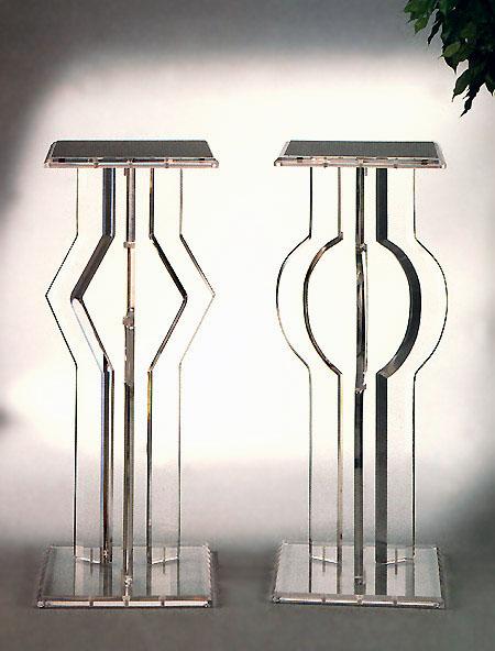 Directional & Orbit Acrylic Pedestal