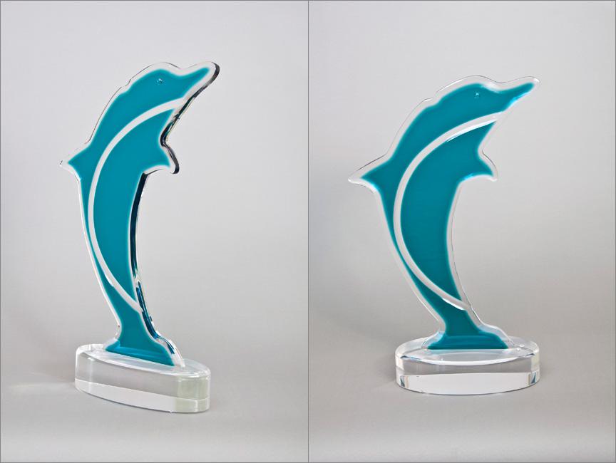 Dolphin Acrylic Sculpture