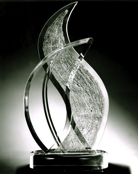 Interlude Acrylic Sculpture