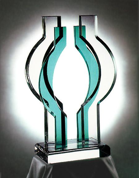 Orbit Acrylic Sculpture