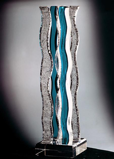 Salsa Acrylic Sculpture