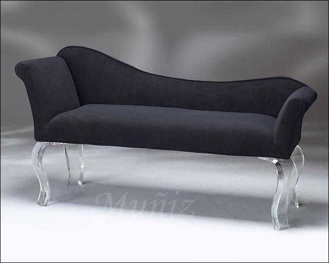 Cleopatra Acrylic Bench
