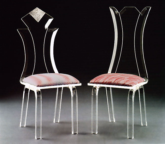 Diamond / Flower Acrylic Chairs