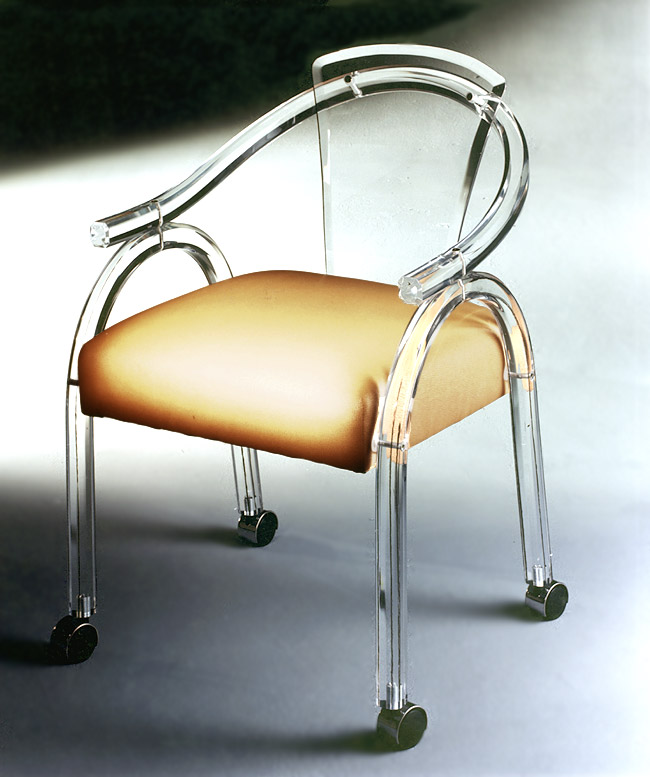 Acrylic Game Chair