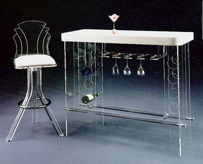 Acrylic Furniture, Tables, Chairs