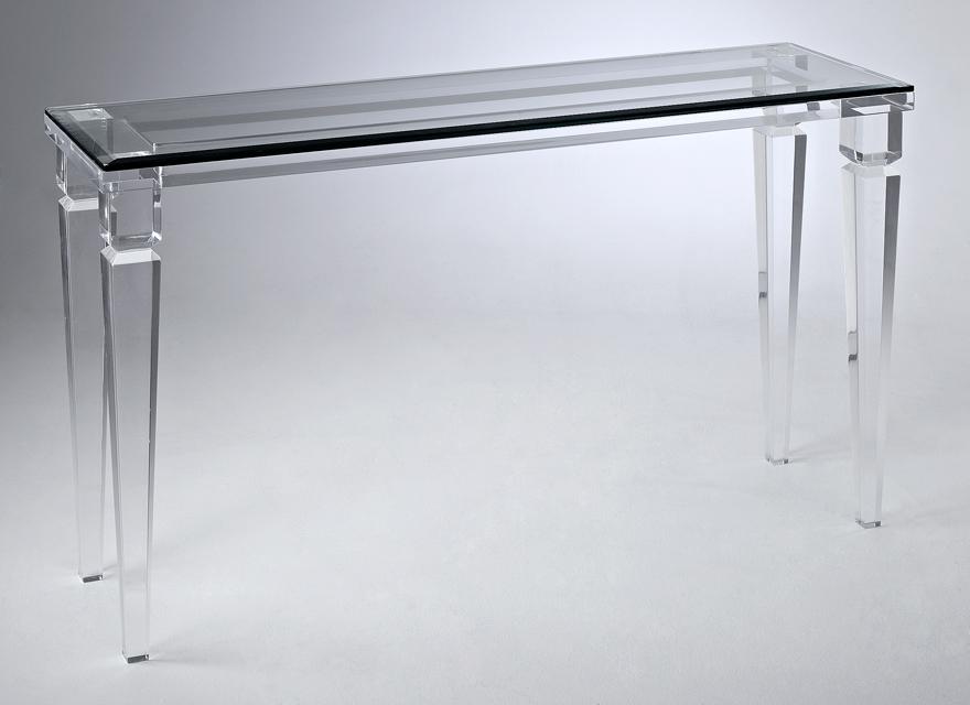 Andora Acrylic Console Table