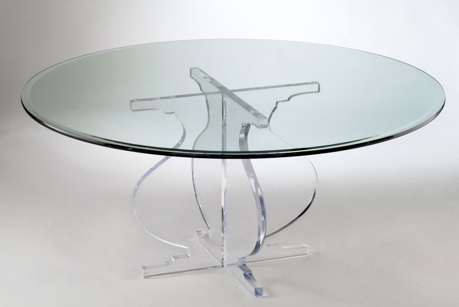 Athena Acrylic Cocktail Table