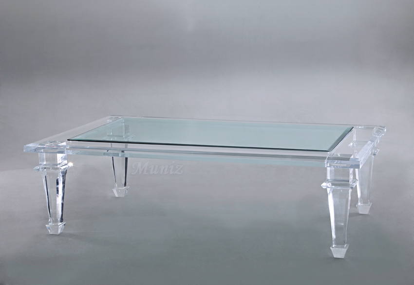 Lexington Acrylic Cocktail Table