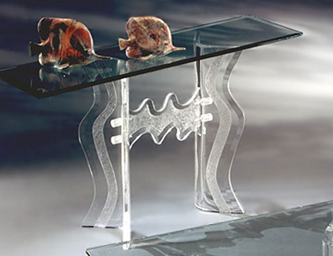 Monaco Acrylic Console Table