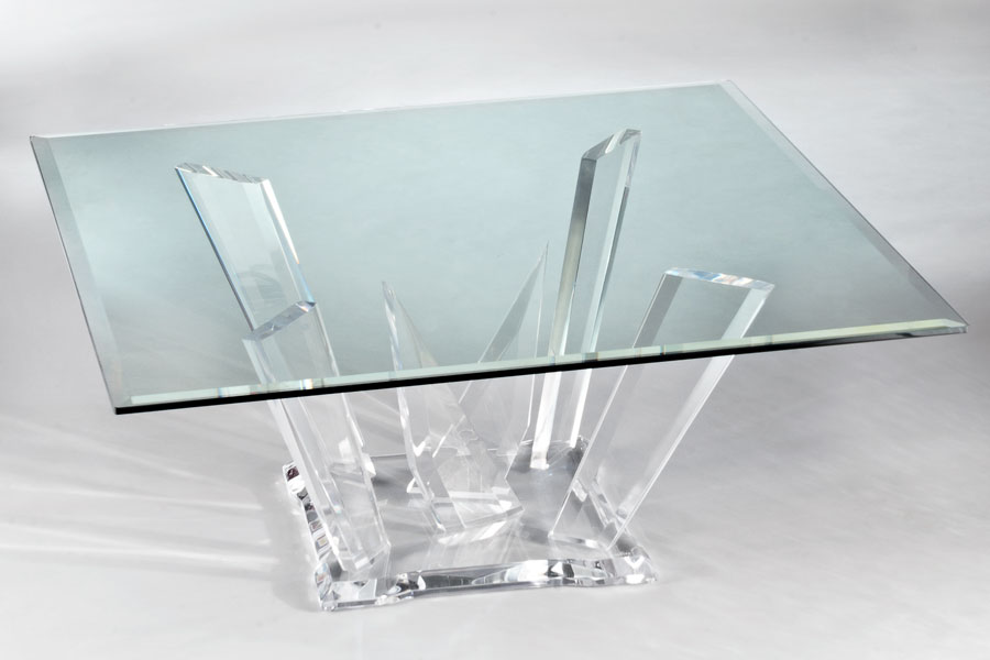 Odyssey EX Acrylic Cocktail Table