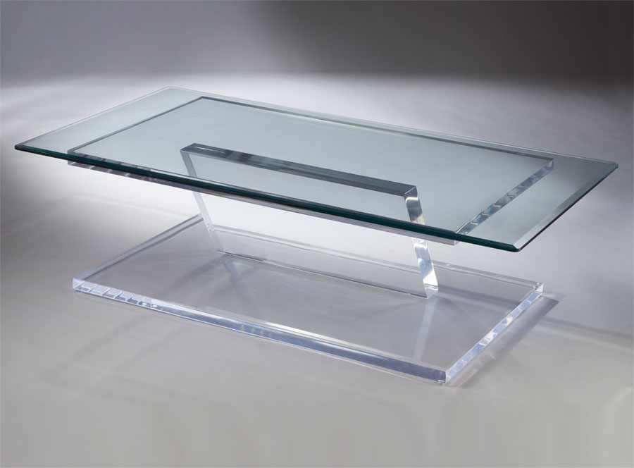 Pegasus Acrylic Cocktail Table