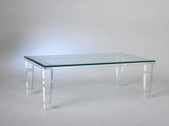 Philipe Acrylic Cocktail Table