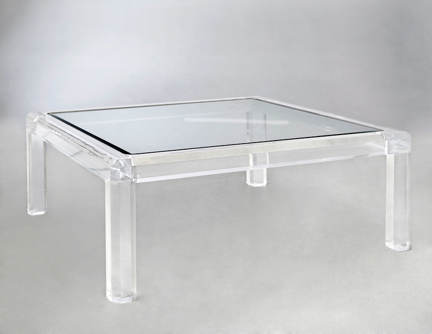 Triton Acrylic Cocktail Table