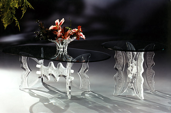 La Mariposa Acrylic Tables