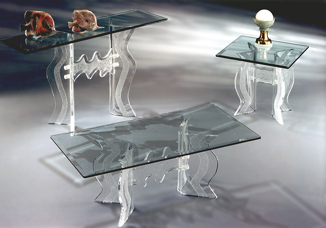 Monaco Series Acrylic Tables