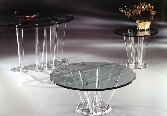 Odyssey Series Acrylic Tables