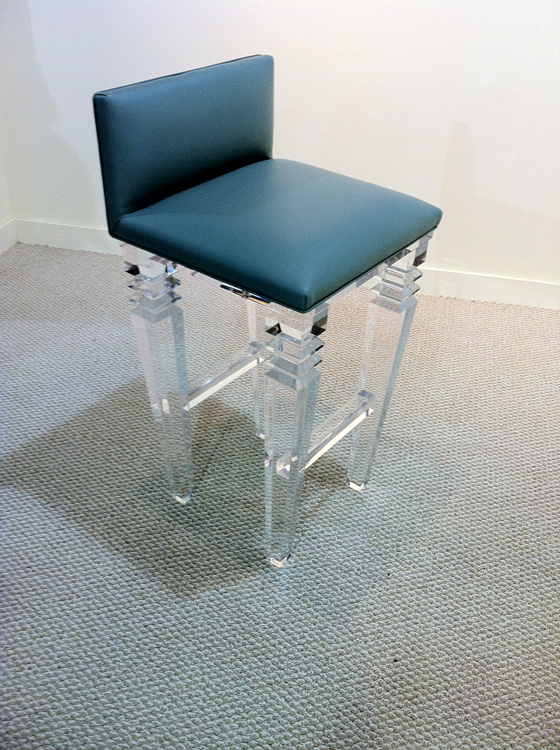 VENICE ACRYLIC BAR STOOL