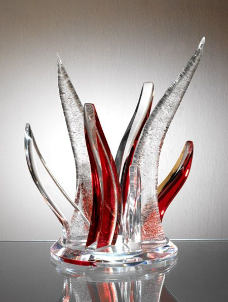 Mercury Acrylic Sculpture Muniz Plastics
