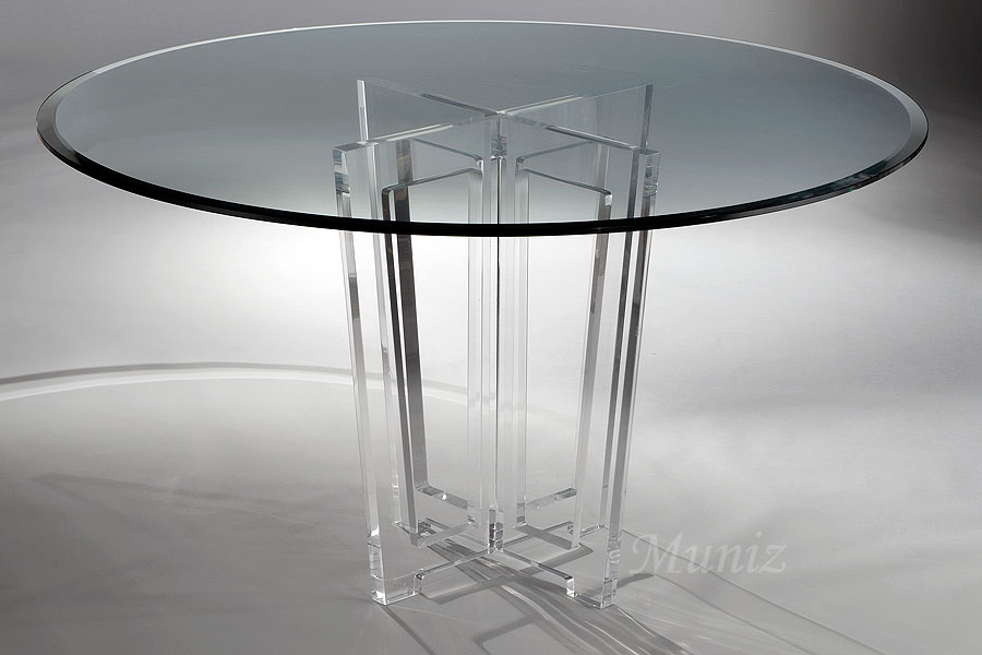 Beau Victoria Acrylic Dining Table