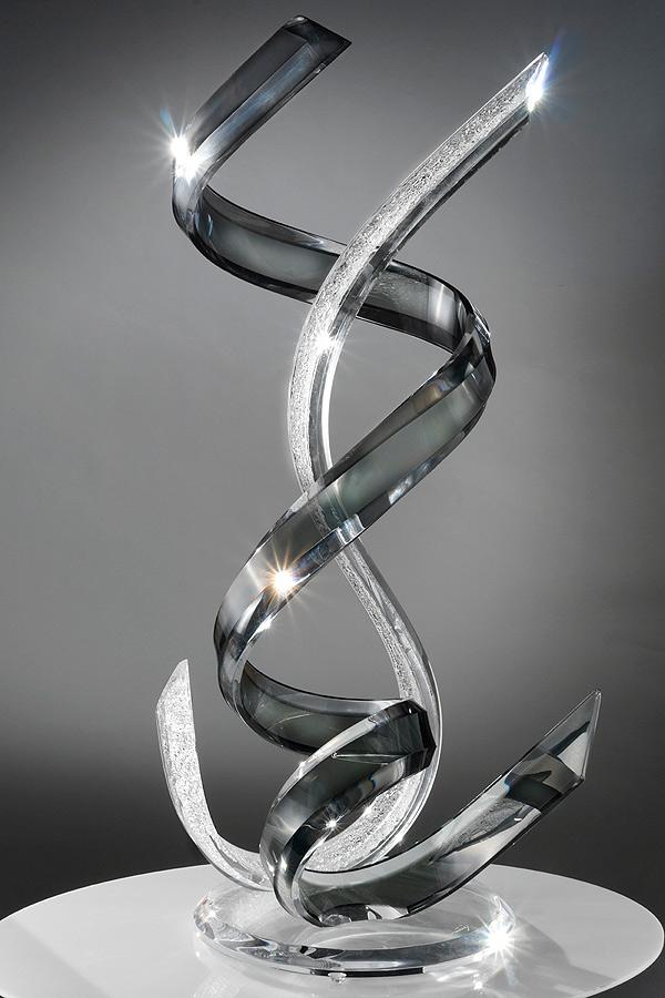 Twister Acrylic Sculpture Muniz Plastics